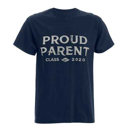 2020 Proud Parent T-Shirt-Navy